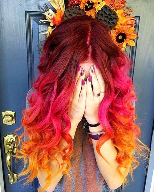 Фото палитра цветов для волос 138