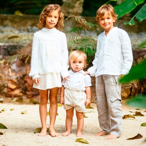 дочь и сыновья