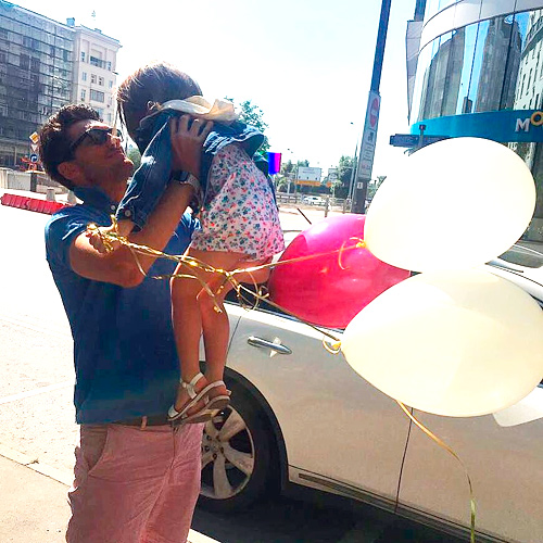 беридзе с дочерью