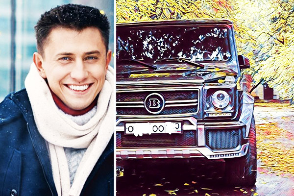 Павел Прилучный купил автомобиль