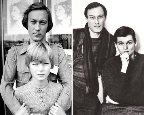 янковский олег фото с семьей сейчас нарисуем обе
